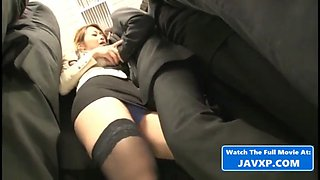 Japanese milf took the wrong bus, asian jav
