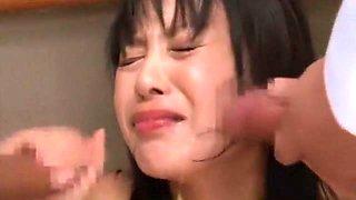 Crazy Japanese chick Nana Nanaumi in Best Cougar, Blowjob/Fera JAV scene