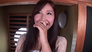 Horny Japanese slut Ai Sayama in Exotic JAV censored Facial, Hairy scene