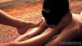 Feet Licking Fight Wrestling Humiliation