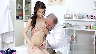 Hot Teen Sweetheart And Her Doctor Are Making Love