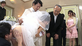 Fuck Bride In Wedding Ceremony