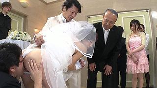 Fuck Bride In Wedding Ceremony