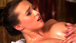 Massage Rooms Amazing natural tits babe