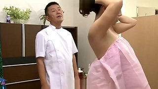 Nagasawa Azusa Cuckold Massage Daughter-in-law