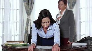 Keisha Grey Fucks Submissive Secretary Karlee Grey