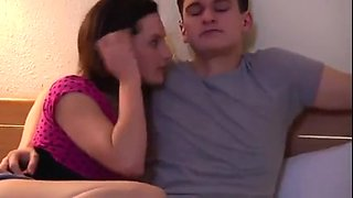 Sister seduces not her real brother Brother - Quality one