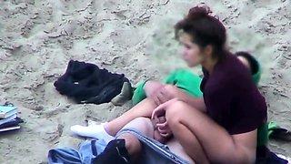 Teen Couple At Beach Have Sex Fun Caught Hidden Cam