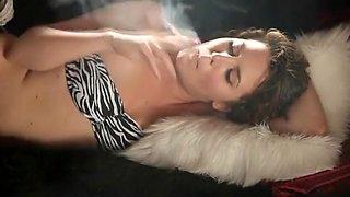Exotic amateur Smoking, Fetish porn clip