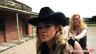 Jessa Rhodes and Misha Cross cannot resist a kinky threesome