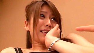 Amazing Japanese whore in Horny Facial, Stockings/Pansuto JAV scene