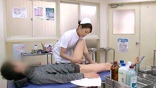 Crazy Japanese whore Aya Sakuraba, Yuri Aine, Yu Kawakami in Horny Handjobs JAV clip