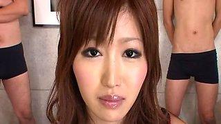 Rui Asahina Uncensored Hardcore Video with Gangbang, BDSM scenes
