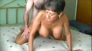Amateur mature aunt fucked