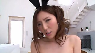 Hottest Japanese chick in Amazing JAV censored Swallow, Hairy scene