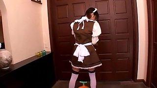 Exotic Japanese model Kokoro Kawaii in Incredible Maid, Pissing JAV scene