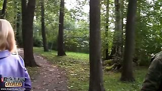 Anal sex and squirting in the park