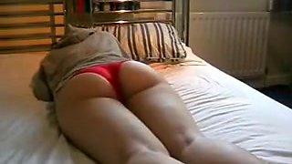 Ass sleeping amateur