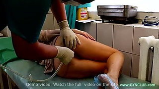 Enema in gyno room