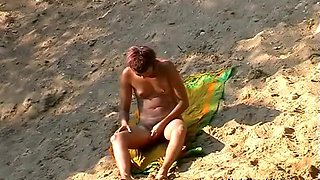 Exotic Amateur video with Beach, Nudism scenes