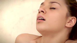 big clit in the bath tub