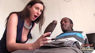 Lara Latex - Housewife Seduces American Black Dude