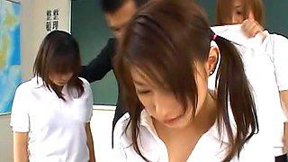 Akane Sakura is a hot Japanese schoolgirl