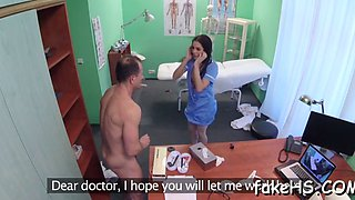 nasty doctor is ready for sex games