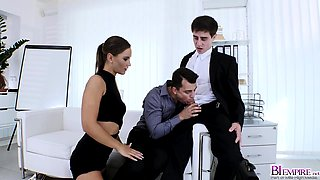 Naomi Bennet riding her fine pussy on Nick Larsens cock
