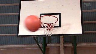 Iroha Koinaka in Basketball College Student AV Debut part 3