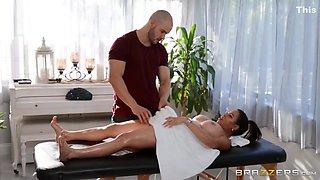 Fucked On The Massage Couch - Duncan Saint And Julianna Vega