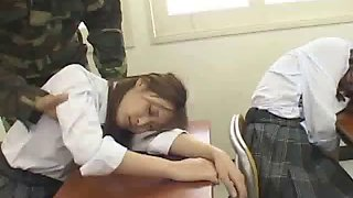 Mass sleeping girls 5