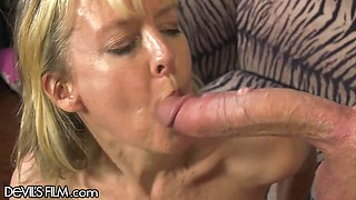 Horny Southern Grandma gets her Teen Cock