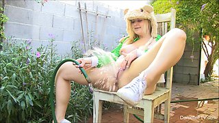 Water Play & Unusual Insertion Video - DanielleFtv