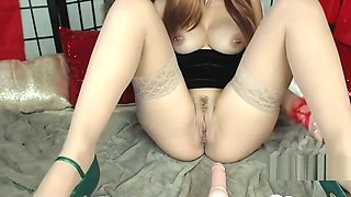 Getting fucked by my dildo machine and cumming insanely hard
