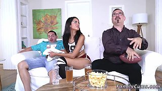 Chubby old women and blonde teen taboo Peter and his dad were enjoying some quality