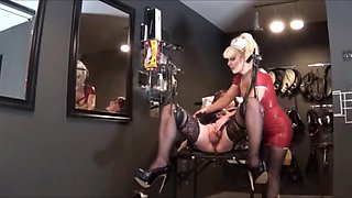 Whore Angelica examined by nurse Madame c