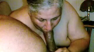 Ugly old 59 married slutty housewife sucked my buddy's dick
