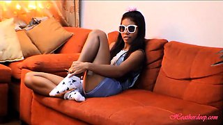 Tiny Asian Teen Heather Deep Anal Creampie Deepthroating