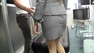 Exotic Japanese whore in Amazing Masturbation/Onanii, Secretary JAV scene