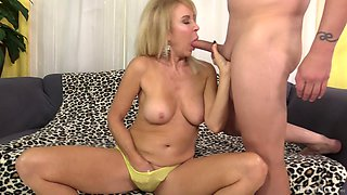 Gorgeous mature Erica Lauren is more than ready for a rough sex