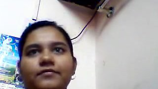 Desi Aunty Hot Show On Skype
