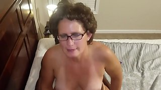 Bbc fucks mature all over her house