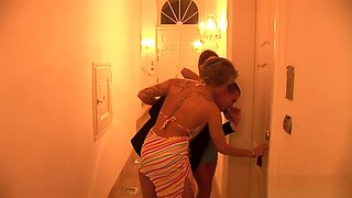 Super Hot Candy Cat And Cristyna Seduce A Lucky Guy