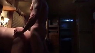 Volumptuous girl gets fucked doggy style