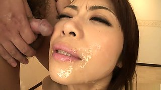 Crazy Japanese chick Maki Hojo in Amazing JAV uncensored Group Sex movie