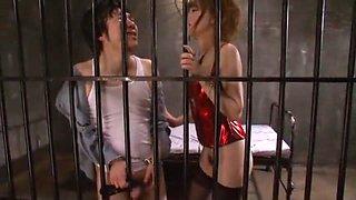 Crazy Japanese whore Akiho Yoshizawa in Amazing Fetish, Close-up JAV movie