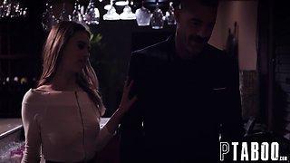 Aggressive Teen Jill Kassidy Waitress Seduces Unsuspecting Married Boss