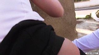 Vinna Reed in Czech Hottie Sits on a Dick - PublicPickups