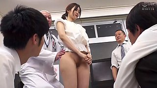 ZOZO015 The New Female Teacher At An All Boys&#39 School Has Her Body Turned Into A Practical Demonstration Ms Maron
